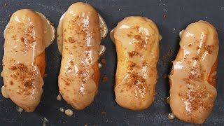 Cookie Butter Eclairs by Tasty