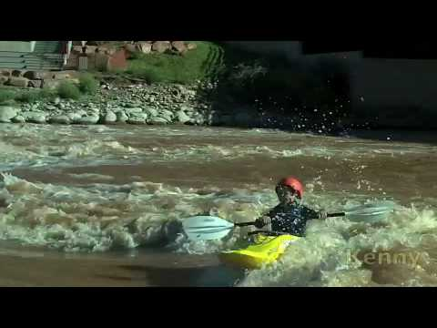 Whitwater Kayaking, Freestyle, Hole Surfing Beatdown: Living the Dream Everyday!