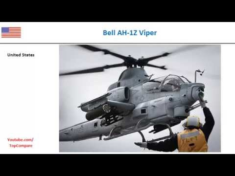 Bell AH-1Z Viper Vs Denel Rooivalk,...