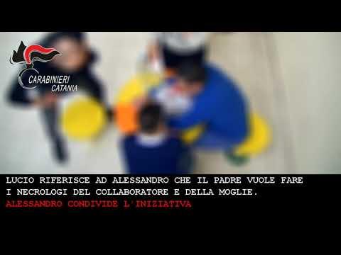 Il video del blitz che ha azzerato i Laudani di Paternò