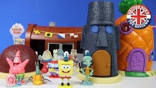 Video Spongebob Squarepants Pineapple House, Bikini Bottom, Krusty Krab Playset | British Bobs Toy Reviews MP3, 3GP, MP4, WEBM, AVI, FLV Agustus 2018