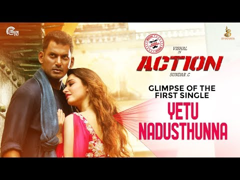 Action Tamil movie Official Trailer Latest