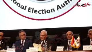 لحظة إعلان نتيجة الاستفتاء علي الدستور