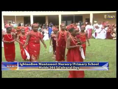 Igbinedion Montessori Nursery/primary School Holds 2017 Cultural Day