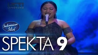 Video MARIA - NEVER ENOUGH (Loren Allred) - Spekta Show Top 7 - Indonesian Idol 2018 MP3, 3GP, MP4, WEBM, AVI, FLV April 2018