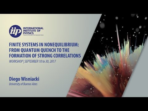 Quantum to classical transition in the work distribution for chaotic systems - Diego Wisniacki