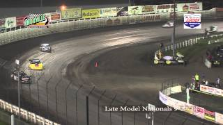 Knoxville Raceway Late Moddel Nationals Final 9-27-14