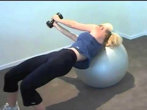 Gym Ball Workout - Advance