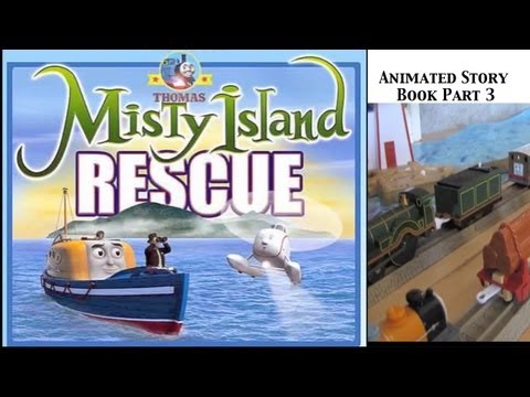 Thomas and Friends Trackmaster Village Misty Island Rescue Animated Story Book Part 3!