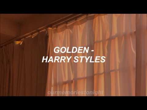 harry styles - golden // lyrics