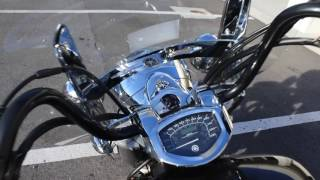 8. 2013 Yamaha V Star 1300 Tourer Motorcycle Review Start Up For Sale