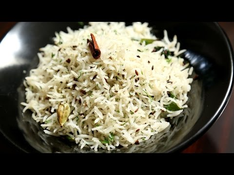 Jeera Rice Recipe | Flavoured Cumin Rice Recipe | Ruchi's Kitchen