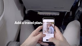 My Verizon App - Plane