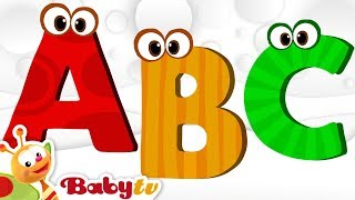 ABC Song, Alphabet Song - Nursery Rhymes   BabyTV