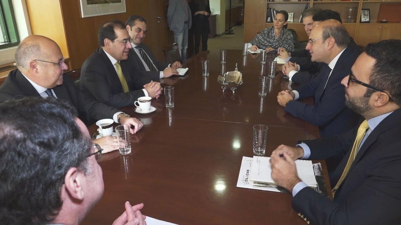 Συνάντηση Κ. Χατζηδάκη με υπ Πετρελαίου Αιγύπτου και προεδρείο Δασολόγων
