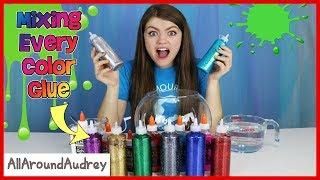 Video Every Color Glue Slime Challenge / AllAroundAudrey MP3, 3GP, MP4, WEBM, AVI, FLV November 2018