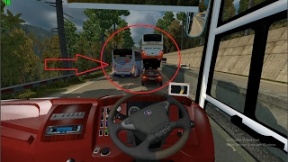 Video ETS2 Detik Detik Menegangkan Tabrakan beruntun Bus vs Sedan vs Bus MP3, 3GP, MP4, WEBM, AVI, FLV Oktober 2018
