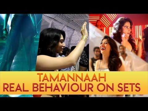 Tamannaah real behaviour on sets – Behind the scenes video of Vishal's 'Okkadochaadu