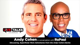 Download Video Andy Cohen with RuPaul at Live Talks Los Angeles MP3 3GP MP4