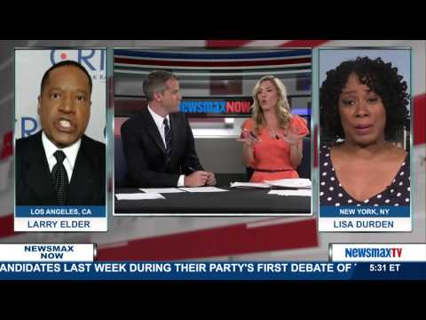 Newsmax Now | Round Table with Larry Elder and Lisa Durden