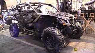 9. 2018 Can Am Maverick X3 X DS Turbo R with MBRP Exhaust - Walkaround - 2017 Toronto ATV Show