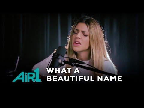 """Hillsong Worship """"What A Beautiful Name"""" LIVE at Air1 Radio"""