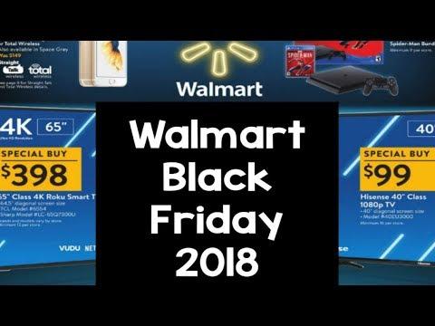 WALMART BLACK FRIDAY 2018   FULL AD   HOT DEALS!