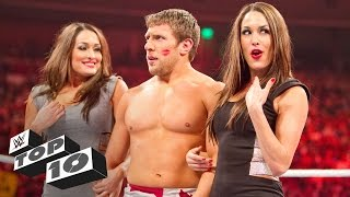Video Unexpected kisses: WWE Top 10 MP3, 3GP, MP4, WEBM, AVI, FLV April 2018