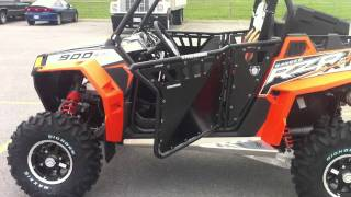 1. 2012 Polaris RZR XP 900 Black/Orange Madness LE