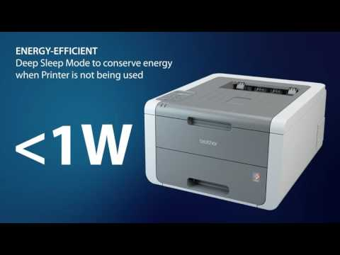 Brother™ Digital Color Printer with Wireless Networking - HL-3140cw