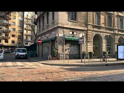 COVID-19: Έρημη πόλη το Μιλάνο λόγω των αυστηρών μέτρων προφύλαξης…