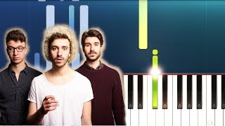 AJR - Turning Out Pt. ii (Piano Tutorial)