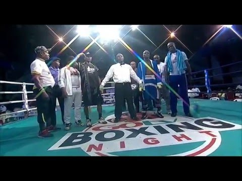 GOtv Boxing Night: Sule 'Tyson' Olagbade Vs Abolaji 'Afonja Warrior' Rsheed