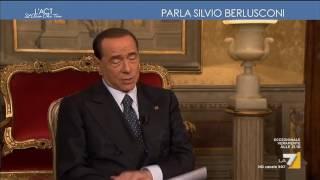 Berlusconi, centrodestra: 'L'euro ci divide dalla Lega' Video