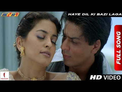 Video Haye Dil Ki Bazi Laga Full Song | One 2 Ka 4 | Shah Rukh Khan, Juhi Chawla download in MP3, 3GP, MP4, WEBM, AVI, FLV January 2017