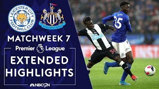 Leicester City v. Newcastle | PREMIER LEAGUE HIGHLIGHTS | 9/29/19 | NBC Sports