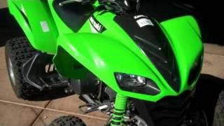 8. 2006 Kawasaki KFX700 Vforce RideNowSurprise