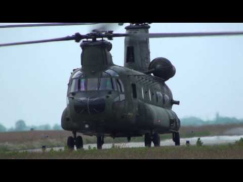 Boeing CH-47D Chinook D-101 and...