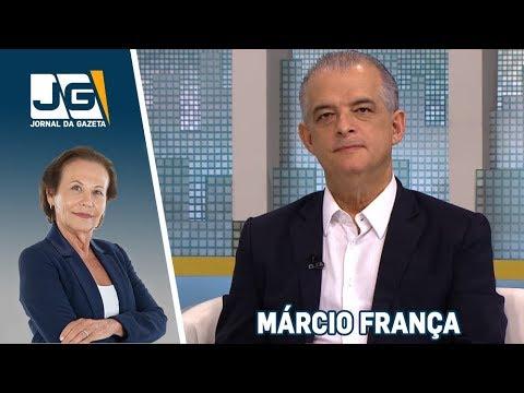 Márcio França (PSB), governador de SP, fala sobre as eleições