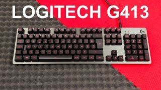 "The Logitech G413 Carbon is a budget mechanical gaming keyboard with a high quality feel and look to it.Subscribe: https://goo.gl/mvLybvTwitter: https://goo.gl/PidWw8Facebook: https://goo.gl/uX86WuMerchandising: https://teespring.com/unicornreviewsPatreon : http://goo.gl/Z1T6tnPayPal support: https://goo.gl/1VEqfZWelcome to Unicorn Reviews, a channel where I review electronics and hardware with a strong focus on computer parts.Feel free to subscribe, it's free and my videos show up in your feed right away for that all important ""FIRST!!"" comment."