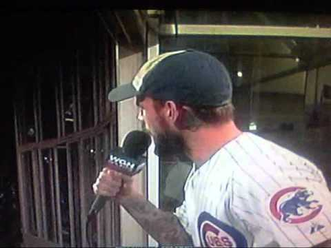 0 Video: CM Punk Sings Take Me Out to the Ball Game at Cubs Game