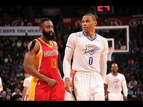 Video: MVP Candidates Harden and Westbrook Duel in OKC