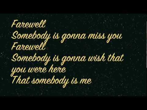 Rihanna - Farewell (Lyrics on screen) HD