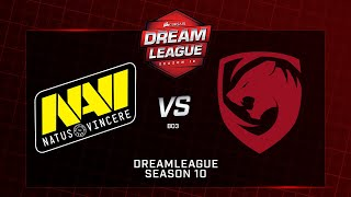 Na`Vi vs Tigers, DreamLeague Minor, bo3, game 2 [Godhunt & Lex]