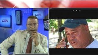Padre de Emely Peguero conversa por vía telefónica con Félix Victorino