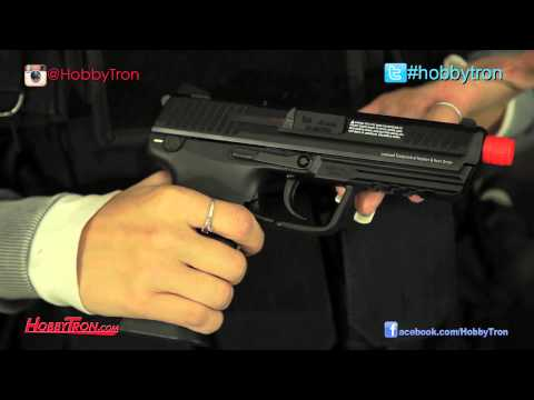 Umarex KWA H&K HK45 Green Gas Airsoft Pistol Review