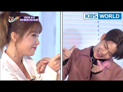 Hong Jin Young vs. Bae Jin Young : Aegyo Battle♥ [Happy Together/2018.01.18]