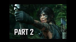 Shadow of the Tomb Raider Walkthrough Part 2 - Dig Site (Let's Play Gameplay Commentary)