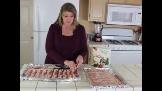 How to Cook Bacon in the Oven. With this recipe it only takes 15 minutes! I like to batch cook a couple pounds of bacon in the...