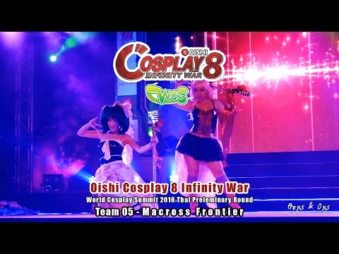 Oishi Cosplay 8 Infinity War – WCS Team 05 – Macross Frontier